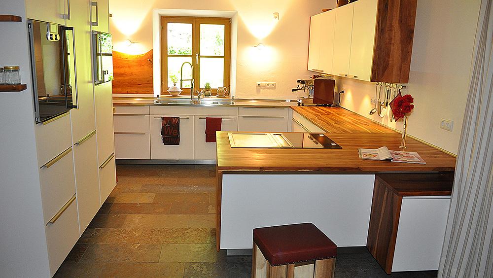 Küchenarbeitsplatte Apfel Massiv Geölt